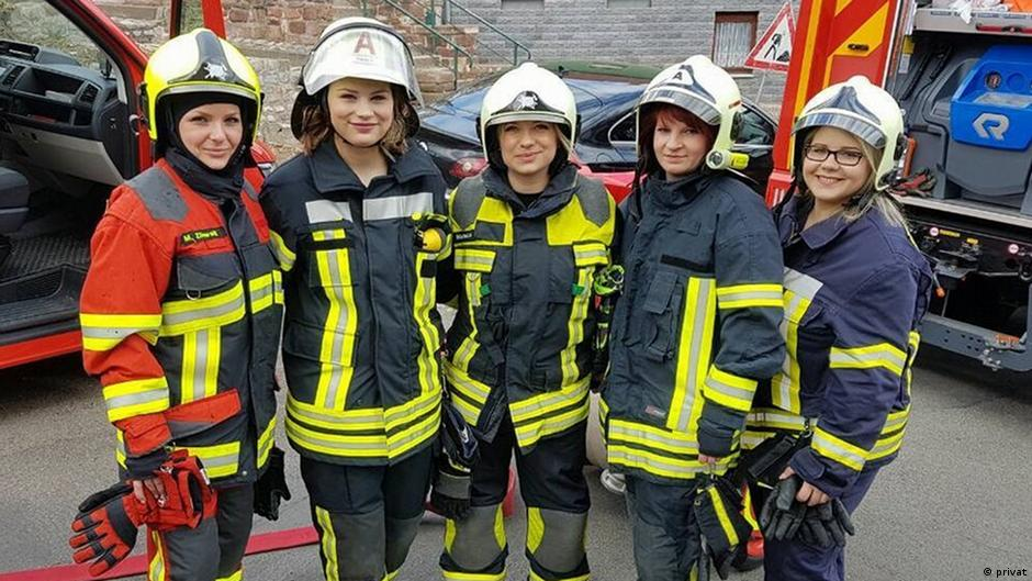 работа пожарного для девушки