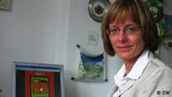 Cornelia Nath, Leiterin Plattdüsk-Büro (Foto: DW/ Mareike Aden)