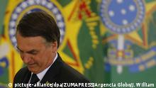 Brasilien | Jair Bolsonaro (picture-alliance/dpa/ZUMAPRESS/Argencia Globo/J. William)