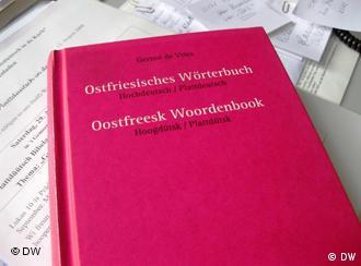 Plattdeutsches Wörterbuch (Foto: DW/ Mareike Aden)