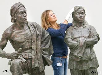 德国人给中国雕塑清尘