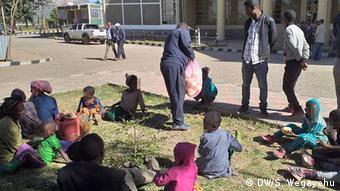 Äthiopien - Vertriebene Kembata Völker in Keffa Zone (DW/S. Wegayehu)