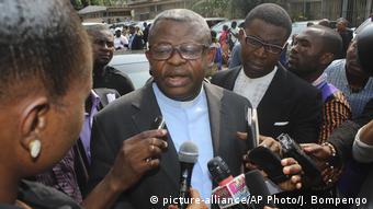 Kongo Abt Donatien N'shole (picture-alliance/AP Photo/J. Bompengo)