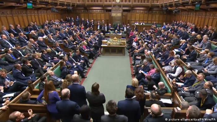 Großbritannien | Brexit | Unterhaus (picture-alliance/dpa/PA Wire/PA)