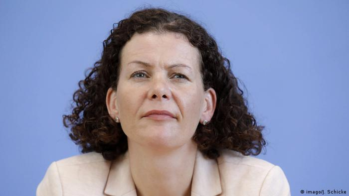 Maria Adebahr   Pressesprecherin des Auswaertigen Amtes