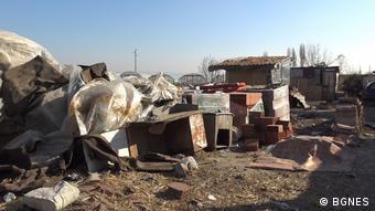 Φωτογραφία από καταυλισμό Ρομά στη Βουλγαρία