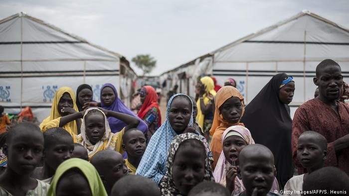 IDP camp in Pulka, Nigeria