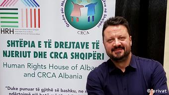 Altin Hazizaj | Children's Human Rights Centre of Albania (privat)
