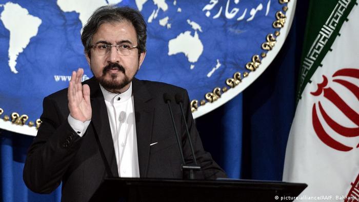 Iran Teheran Sprecher des Außenministeriums Bahram Ghasemi