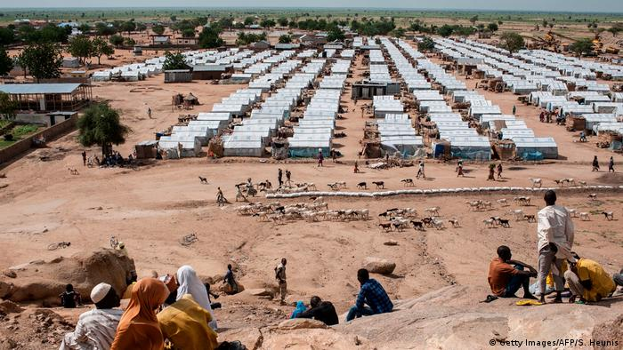 Nigeria Pulka Flüchtlingslager im Bundesstaat Borno