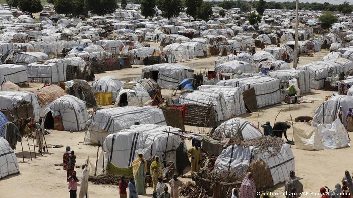 Izbeglice blizu Majdugurua