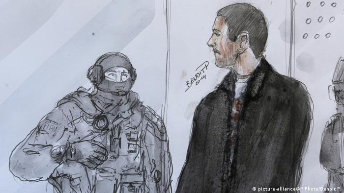 Frankreich 2014 Prozess Mehdi Nemmouche | Anschlag auf das Jüdische Museum von Belgien 2014