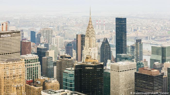 USA Chrysler Building in New York