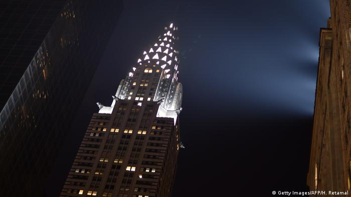USA Chrysler Building in New York (Getty Images/AFP/H. Retamal)