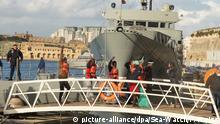 Lösung für Schiffe deutscher Seenotretter