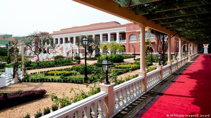 Palácio presidencial em Luanda