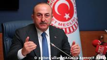 Türkei Mevlüt Cavusoglu, Außenminister in Ankara