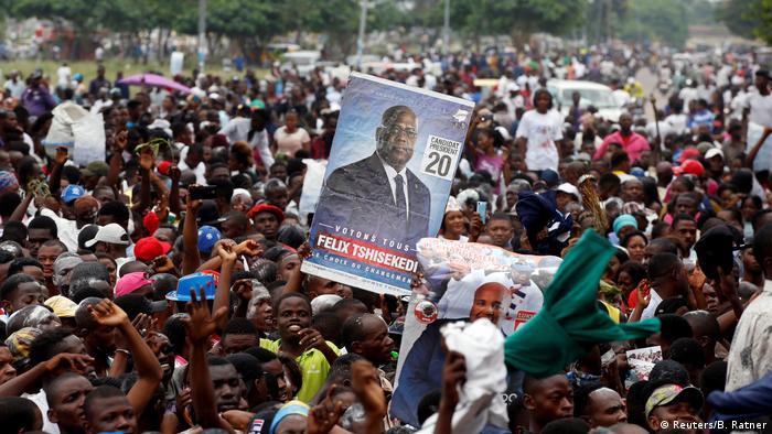 DR Kongo Lage nach Wahlsieg von Tshisekedi (Reuters/B. Ratner)