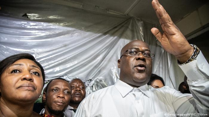 DR Kongo Lage nach Wahlsieg von Tshisekedi (Getty Images/AFP/C. Thirion)