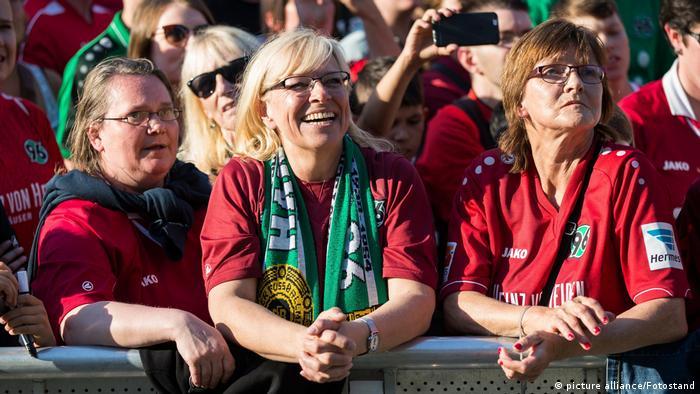 Hannover 96 - Aufstiegsfeier