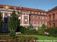 Один из корпусов Грейфсвальдского университета