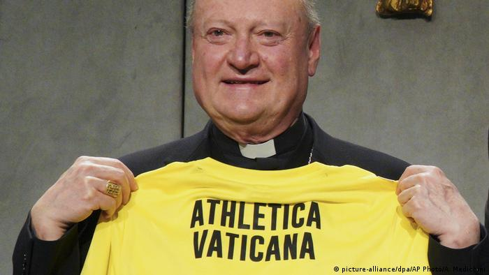Vatican | Sport | Athletic Vatican (picture-alliance/dpa/AP Photo/A. Medichini)