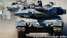 Rüstungsexporte Kampfpanzer Leopard