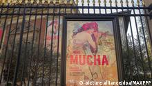 Alphonse Mucha-Ausstellung im Musee du Luxembourg in Paris (picture alliance/dpa/MAXPPP)