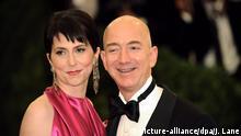 Jeff Bezos und Ehefrau MacKenzie