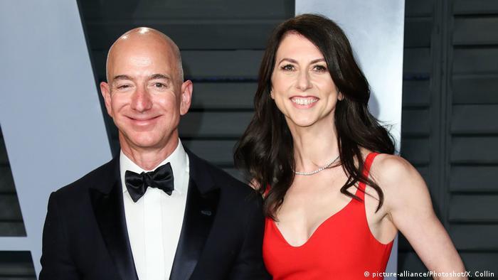 Amazon founder Bezos′ divorce finalized with $38 billion