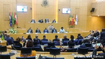 Treffen (10.01) der Parlamentarischen Versammlung der CPLP Kap Verde