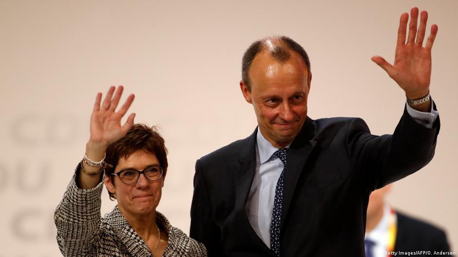 Deutschland | Annegret Kramp-Karrenbauer und Friedrich Merz | CDU