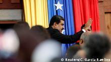 Venezuela, Caracas: Nicolas Maduro