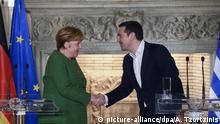 Griechenland | Merkel zu Besuch