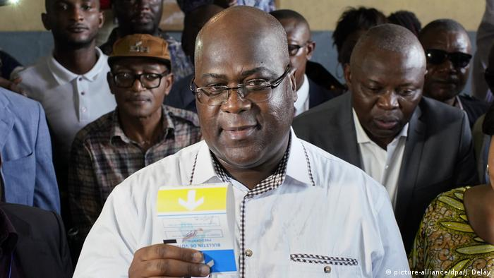 Kongo, Kinshasa: Nach den Wahlen im Kongo - Félix Tshisekedi