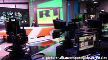 Russland l RT Fernsehstudio in Moskau