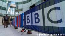 09. Mai 2018 UK: Das Broadcasting House in London ist seit 2013 der Hauptsitz der British Broadcasting Corporation (BBC). Foto vom 09. Mai 2018.   Verwendung weltweit