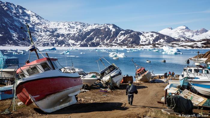 Bildergalerie Grönland Klimawandel (Reuters/L. Jackson)