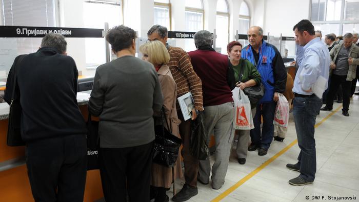 Mazedonien Land und Leute - Rentenversicherung Fond in Skopje