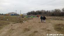 Calais Migranten in Frankreich