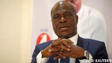 FILE PHOTO: Martin Fayulu, the joint opposition presidential candidate in Democratic Republic of Congo, speaks during an interview with Reuters in the capital Kinshasa