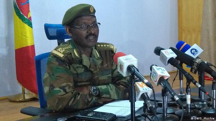Äthiopiens stellvertretender Armeechef Berhanu Jula (Foto: DW/S. Muchie)