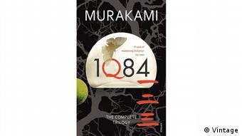 Buchcover 1Q84 von Haruki Murakami. (Vintage)