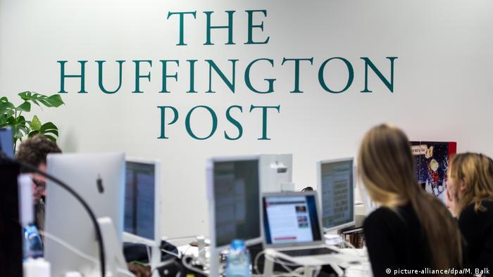 The offices of Huffington Post Deutschland in Munich