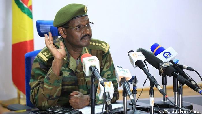 Mkuu wa majeshi nchini Ethiopia, Jenerali Birhanu Jula Gelalcha