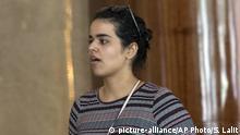 Asylsuchende Rahaf Mohammed Alqunun in Bangkok