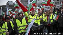 Symbolbild: Belgien, Brüssel: Gelbwesten Protest