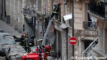 Frankreich, Paris: Explosion im 9. Arrondissement