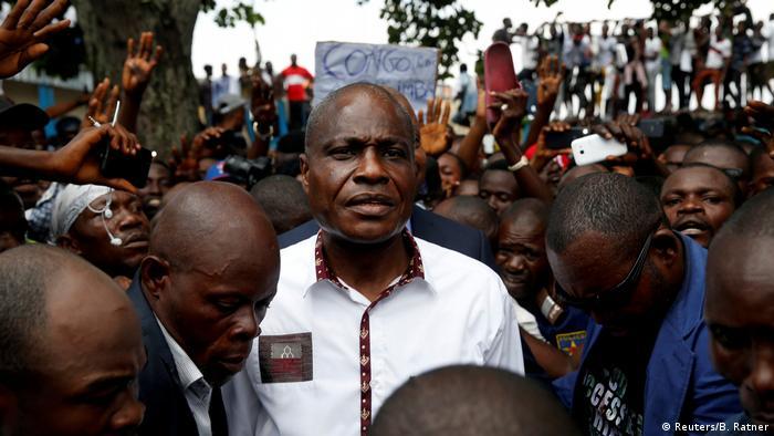 Kongo, Kinshasa: Martin Fayulu, Zweiter in der Präsidentschaftswahl der Demokratischen Republik