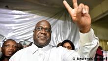 Kongo, Kinshasa: Felix Tshisekedi, Vorsitzender der kongolesischen Oppositionspartei der Union
